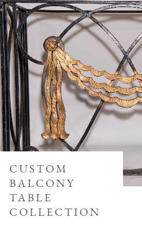 custom iron balcony collection